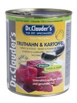 Dr. Clauder's - Selected Meat Pro Hair Skin Truthahn Kartoffel - с пуика и картофи за кученца с проблемна кожа и козина - 800 гр.