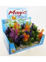 Sydeco - Magic Fiesta Colors - Изкуствено аквариумно растение - 16 см.