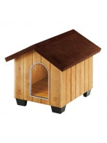 Ferplast Domus Small Wooden kennel - дървена къщичка, 61 x 74,5 x h 55 см