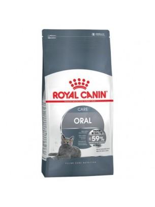 Royal Canin Oral Care  - суха гранулирана храна за котки над 1 година с устна чувствителност  - 8 кг.