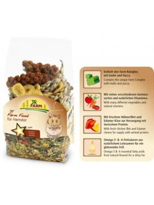 JR Farm - Пълноценна и любима храна за хамстери - 0.500 кг.