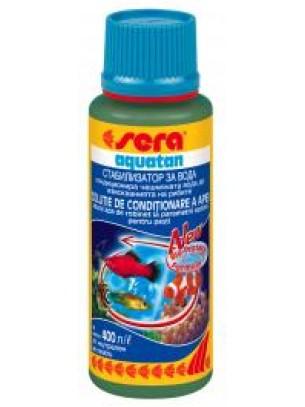 Sera aquatan - за стабилизиране на чешмяната вода годна за аквариумните рибки - 100 мл. - нов код 121203