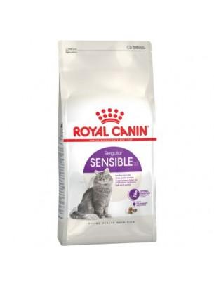 Royal Canin Sensible 33  - суха храна за котки с чувствителна храносмилателна система над 1 година - 10 кг.