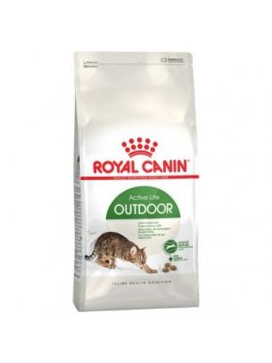 Royal Canin Outdoor - суха гранулирана храна за активни и излизащи и навън котки в зряла възраст от 1 до 7 години - 10 кг.