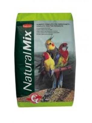 Padovan Naturalmix PP00125 - пълноценна храна за средни папагали 20 кг.