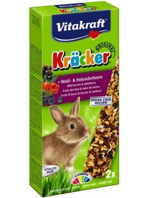 Vitakraft Krecker Wald & Holunderbeere - Крекер за мини зайчета с горски плодове - 2 бр. - 145 гр.