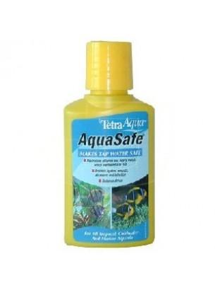 Tetra aqua safe - препарат за ефективно и бързо подобряване на чешмяната вода - 100 мл.