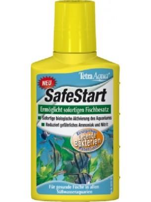 Tetra aqua safe start - препарат за ефективно и бързо подобряване на чешмяната вода и моментално стартиране на нов аквариум - 100 мл.