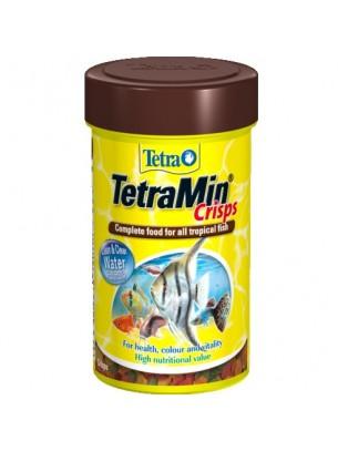 TetraMin Crips основна  храна за всички видове аквариумни рибки - 100 мл.