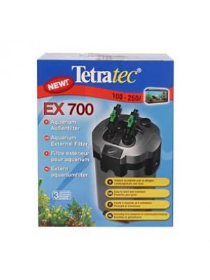 TetraTec External Filter EX 700 - външен филтър за аквариум - с капацитет 700 л/час.  За аквариуми от 100 до 250 л.
