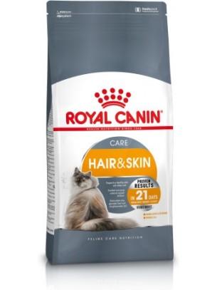 Royal Canin Hare & Skin Сare - суха храна за котки над 1 година за бляскава козина и здрава кожа - 0.4 кг.