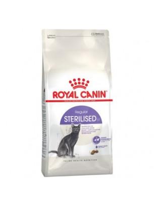 Royal Canin Sterilised - суха гранулирана храна за възрастни кастрирани котки - 2 кг.