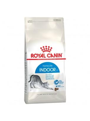 Royal Canin Cat INDOOR 27  - суха гранулирана храна за котки над 1 година водещи засточл начин на живот - 2 кг.