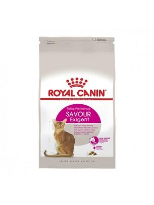 Royal Canin Exigent Savour  - суха гранулирана храна за изключително капризни котки над 1 година  - 0.400 кг.
