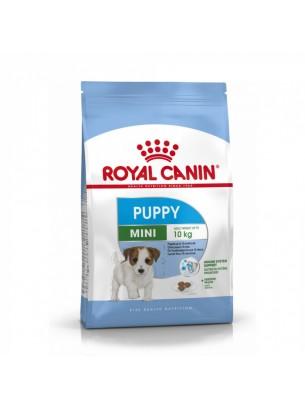 Royal Canin MINI Puppy –  суха гранулирана храна за кучета от дребни породи  до 10 месеца - 8 кг.