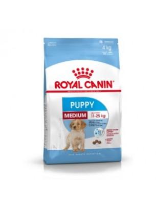 Royal Canin Medium Puppy  - суха гранулирана храна за кучета до 1 год. от средните породи - 4 кг.