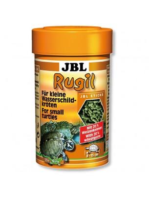 JBL Rugil -  всекидневна балансирана храна на гранули за малки, подрастващи костенурки - 100 ml.