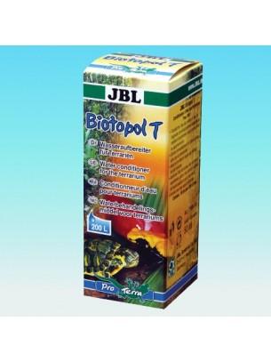 JBL Biotopol T - Препарат отстраняващ вредните съставки от водата в тарариума - 50 ml.