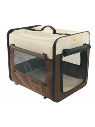 Ferplast - HOLIDAY 2 - сгъваема транспортна чанта от плат за куче или котка  - 46х36х41 см.