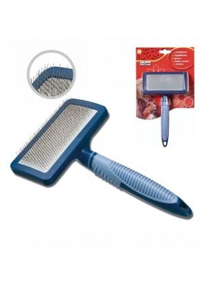 Camon - Четка SLICKER за разресване на домашни любимци - 7х5х17,5 см.