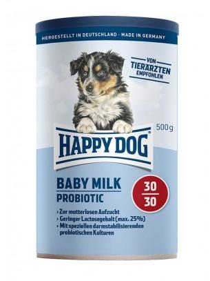 Happy Dog Baby Milk Probiotic - бебешко мляко със специална пробиотична добавка, стабилизираща чревната микрофлора - 0,500 кг.
