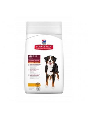 Hill's - Science Plan™ Canine Adult Advanced Fitness™ Large Breed Chicken - За кучета от едрите породи над 25 кг и от 1 до 6 години - с пилешко месо - 12 кг.