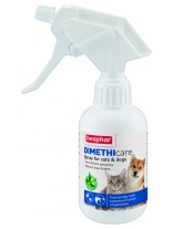 Beaphar Dimethicare Spray - спрей за кучета и котки против бълхи, кърлежи, комари, пясъчни мухи