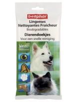 Beaphar BIO Cleaning Wipes - биоразградими почистващи кърпички с Aloe Vera и Pantenol за домашни любимци - 24 броя
