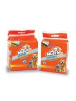 Mr.Muscle Oxi Pads - почистващи кърпа поемаща до 1 л урина - за почистване на под, килими и др. - 30.5 х 30.5 см, - 25 бр.