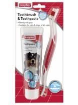Beaphar Dental Kit – паста за зъби -100 гр. + четка за зъби