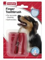 Beaphar - четка за зъби напръстник - 2 броя