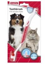 Beaphar - Четка за зъби за домашни любимци