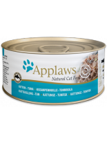 Applaws Kitten Tuna in Jelly - високо качествен консерва за подрастващи котки от 1 до 12 месеца с месни хапки от риба тон в желе - 70 гр.