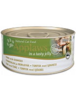 Applaws Tuna with Seaweed in Jelly - високо качествен консерва за котки над 12 месеца с филе от риба тон и водорасли в желе - 70 гр.