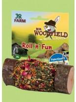 JR_Farm - Roll'n'Fun -за гризане! Истинско дърво с пълнеж от цветя и билки.