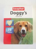 "Beaphar кучешки сърчица с ""Biotin"",180 бр."