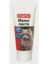 Beaphar Малцова паста с важните за козината Omega 3 & Omega 6 - 25 гр.