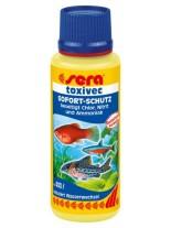 Sera Toxivec - При високи нива на амоний/амоняк, нитрити, хлор, тежки метали в аквариумната вода - 100 мл.