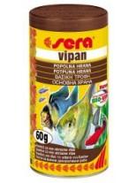 Sera Vipan  - основна, ежедневна храна за всички видове декоративни рибки - 1000 мл.
