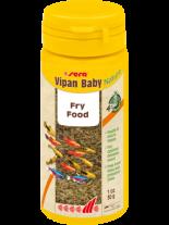 Vipan Baby Nature - основна храна за малки, подрастващи декоративни рибки на люспи - без оцветители и консерванти - 50 мл.