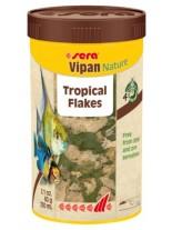 Sera Vipan Nature - основна храна за декоративни рибки - без оцветители и консерванти - 100 мл.