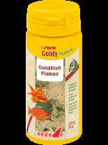 Sera Goldy Nature - основна храна на люспи за златни рибки с инсекти - без оцветители и консерванти - 12 гр.