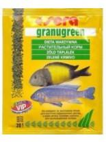 Sera Granugreen veggie pallest – балансирана храна за растителноядни цихлиди - 20 гр.