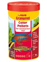 Sera Granugreen color pallets – балансирана храна за растителноядни цихлиди - 100 мл.