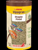 Sera sera Vipagran Nature - основна храна за декоративни рибки на гранули - без оцветители и консерванти - 1000 мл.