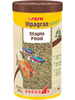 Sera sera Vipagran Nature - основна храна за декоративни рибки на гранули - без оцветители и консерванти - 10000 мл. - 3 кг.