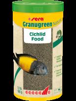 Sera Granugreen Nature - специално разработена основна храна за източноафриканските цихлиди - 1000 мл.