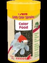 Sera Goldy Color Spirulina Nature - основна гранулирана храна за по-големи златни рибки със спирулина - 10 000 мл. - 3.8 кг.