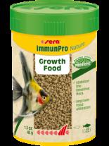 Sera ImmunPro Nature - основна храна за декоративни рибки на гранули, с пробиотици и- без оцветители и консерванти, за рибки над 4 см. - 100 мл.
