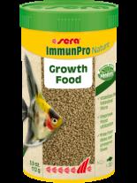 Sera ImmunPro Nature - основна храна за декоративни рибки на гранули, с пробиотици и- без оцветители и консерванти, за рибки над 4 см. - 250 мл.